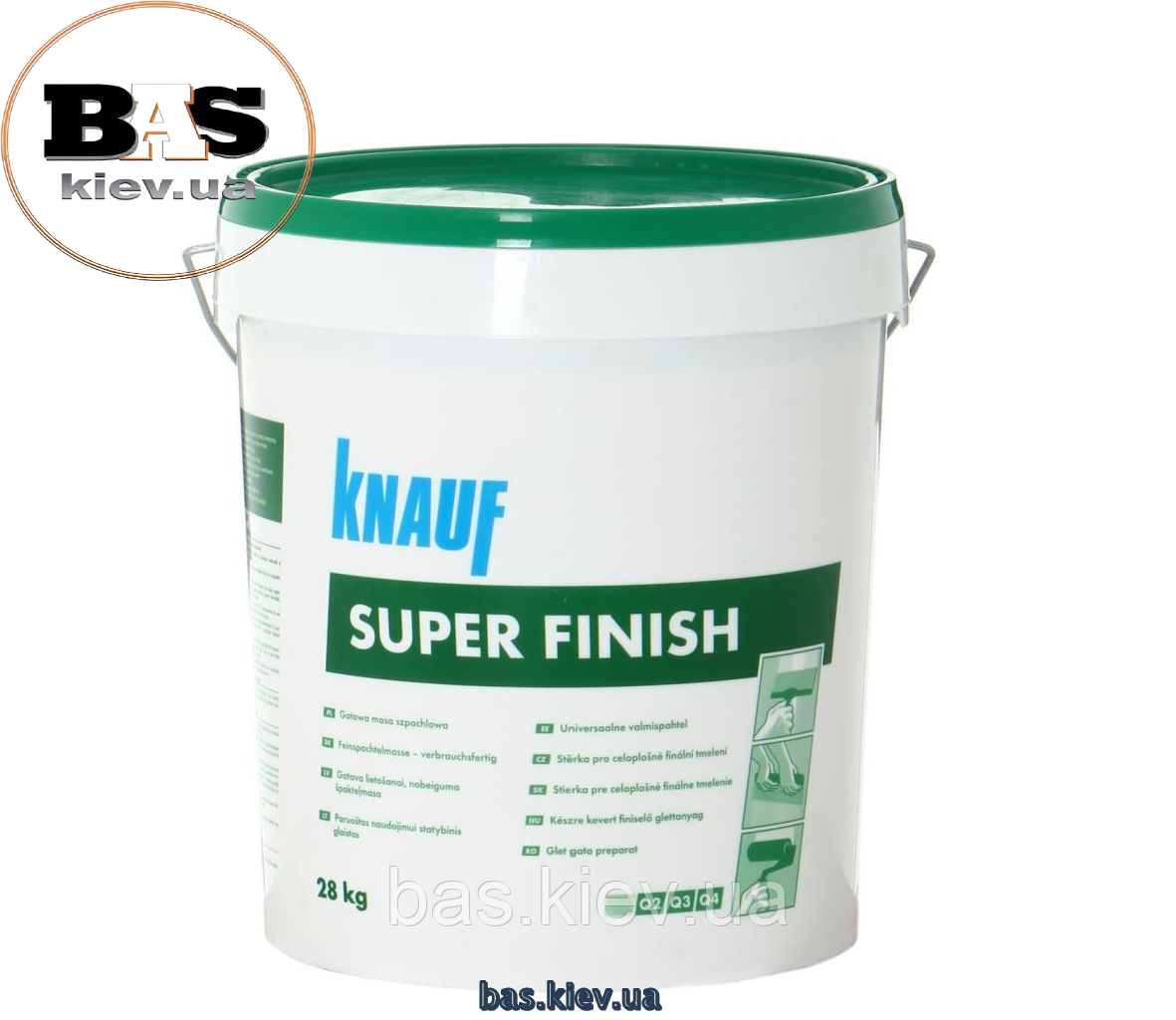 Шпаклевка Knauf Super Finish (Sheetrock), 28 kg