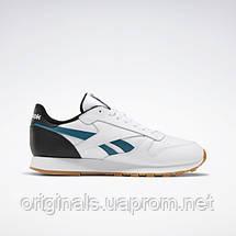 Кроссовки классические Reebok Classic Leather MU EF7832 42 (9US) 27см белые, фото 3