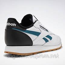 Кроссовки классические Reebok Classic Leather MU EF7832 42 (9US) 27см белые, фото 2