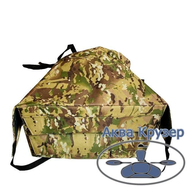 Носовая сумка рундук с креплением для надувной лодки ПВХ до 3,3 м, цвет камуфляж
