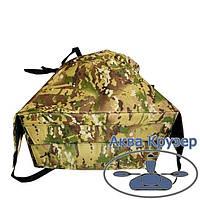 Носова сумка рундук з кріпленням для надувних човнів ПВХ до 3,3 м, колір камуфляж, фото 1