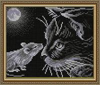 ArtSolo АТ5511 Кошки мышки, набор в алмазной технике