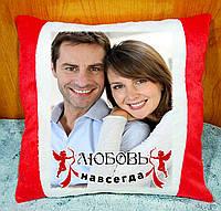 Подушка з фото, подарунок до Дня Закоханих, річниця весілля
