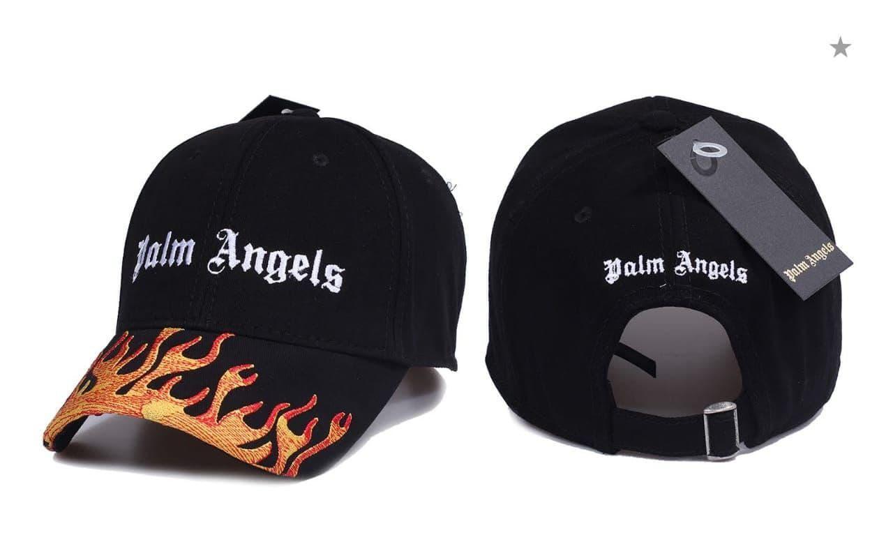 Брендовая кепка Palm Angels CK1670 черная