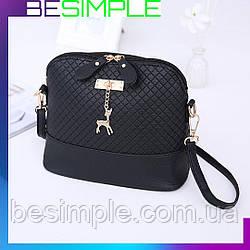 Маленькая женская сумка Bembi + Подарок! / сумочка Бемби