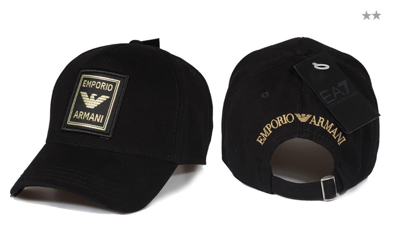 Брендовая кепка Emporio Armani CK1672 черная