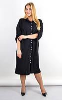 Плаття-сорочка Анита чорний