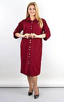 Плаття-сорочка Анита бордо