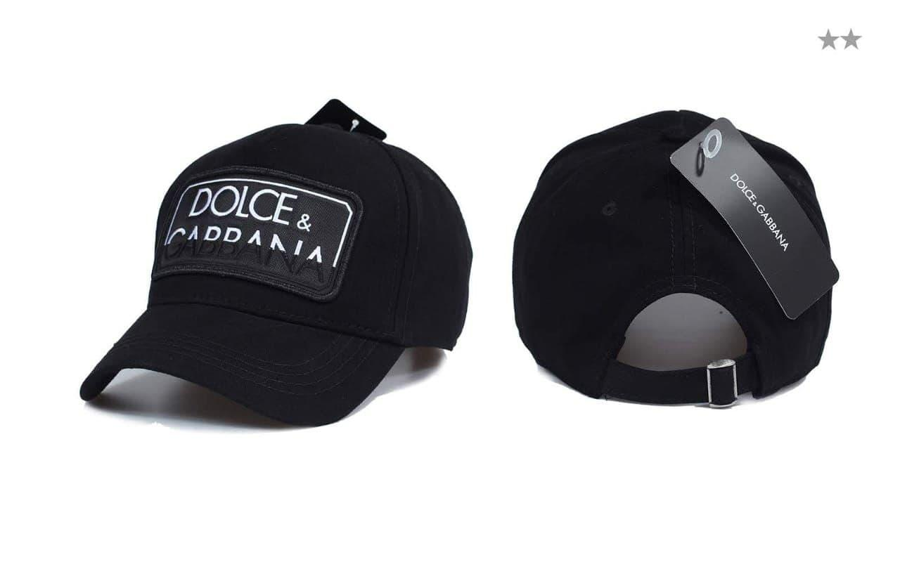 Брендовая кепка Dolce&Gabbana CK1673 черная