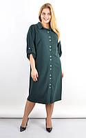 Плаття-сорочка Анита смарагд
