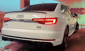 Диффузор Audi A4 B9 S-line тюнинг обвес стиль S4