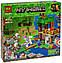 Конструктор Minecraft Bela 10989 Майнкрафт My World Нападение армии скелетов 463 детали, фото 2