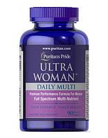 Вітаміни для жінок Puritan's Pride Ultra Women Daily Multi Iron Free Timed Release 90