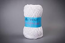 Пряжа бавовняна Vivchari Ethno-Сotton 1200, Color No.001 білий