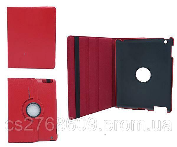 Чехол книжка IPad 2, iPad 3, iPad 4, 9.7` Поворот 360` червоний