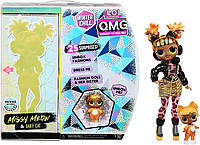 LOL Surprise! OMG Winter Chill Missy Meow Fashion Doll & Baby Cat Doll, фото 1