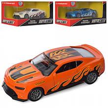Машина арт 2871 АвтоСвіт,метал, інер-я помаранчева.