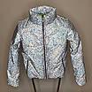 Куртка женская светоотражающая из рефлективной ткани с голографическим принтом, фото 7