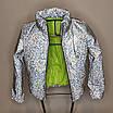 Куртка женская светоотражающая из рефлективной ткани с голографическим принтом, фото 10