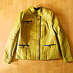 Куртка женская весна-осень оливковая, Батал, размер 50-60, фото 6
