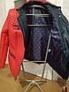 Красная стеганая куртка весна-осень. Размеры 50-60, фото 6