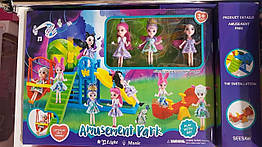 Набір ляльок Энчантималс шарнірна Лялька Enchantimals