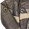 Демисезонная короткая курточка на мальчика подростка, цвет синий, р-ры 140-170, мод.Дарио, фото 10