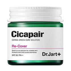 Dr.Jart+ Cicapair Re-Cover - Трехфункциональный крем : отбеливание + разглаживание морщин + УФ-защита, SPF30 ,