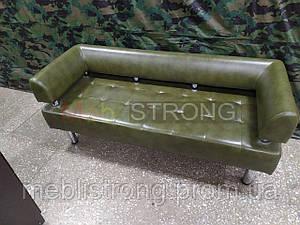 Диван для офиса Стронг (MebliSTRONG) - камуфляжный глянцевый цвет