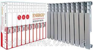 Радиатор биметаллический секционный ENERGO BIDEEP 500/96 (кратно 10)