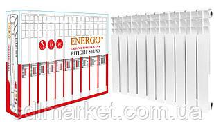 Радиатор биметаллический секционный ENERGO BITIGHT 500/80 (кратно 10)