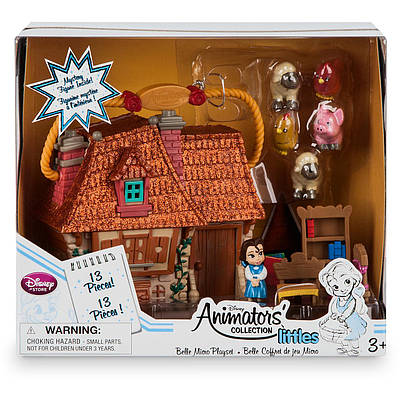 Disney Animators Collection Belle Doll Бель лялька Красуня і чудовисько