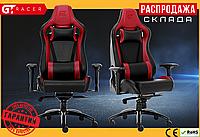 Компьютерное Игровое Кресло Геймерское с MultiBlock для Геймера GT Racer X-0814 Черное / Красное