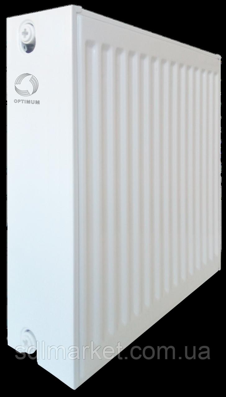 Радиатор стальной панельный OPTIMUM 33 бок 500x600
