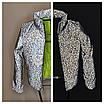 Куртка для девочки светоотражающая из рефлективной ткани подростковая с голографическим принтом Паутинка, фото 8