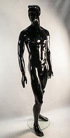 Манекен мужской М-1 черный
