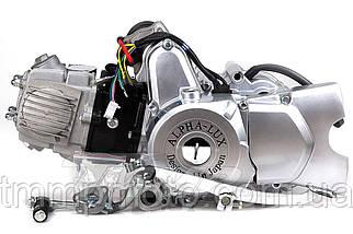 Двигатель 110куб полуавтомат 52,4мм Альфа Дельта Актив черный, фото 3