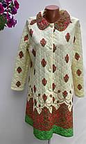 Халат жіночий на гудзиках розмір 46 (н-70), фото 3