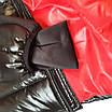 Куртка - пуховик зимняя мужская короткая из плащевки модель Тони, фото 10