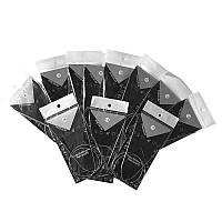 11шт. Круговые спицы для вязания 1.5-5мм 80см сталь набор
