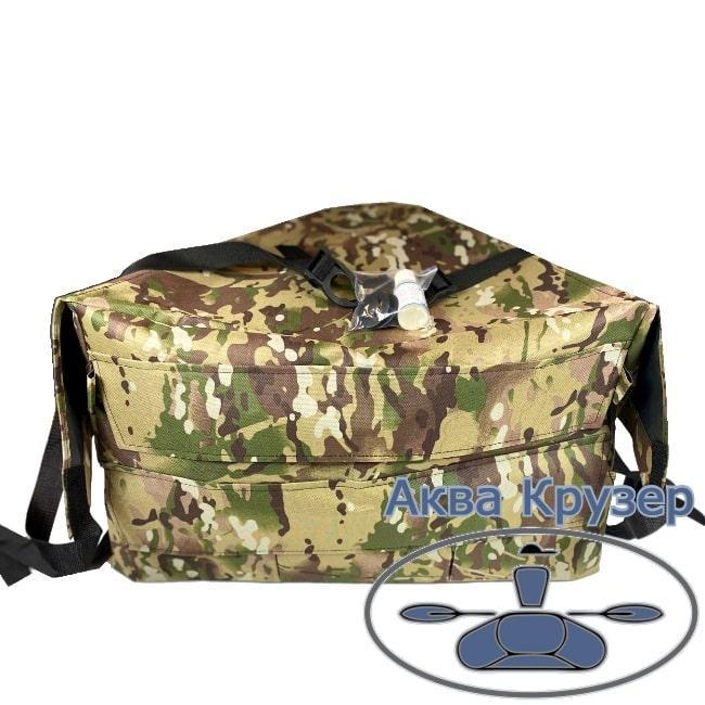 Носовая сумка рундук с креплением на надувную лодку ПВХ Колибри, Барк до 3,6 м, цвет камуфляж