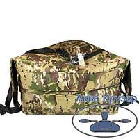 Носова сумка рундук з кріпленням на надувний човен ПВХ Колібрі, Барк до 3,6 м, колір камуфляж