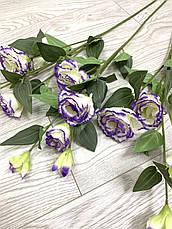 Искусственная эустома ( премиум , имитация натурального растения)., фото 2