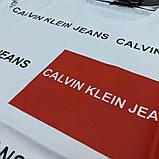 Чоловіча футболка Calvin Klein CK1688 біла, фото 3