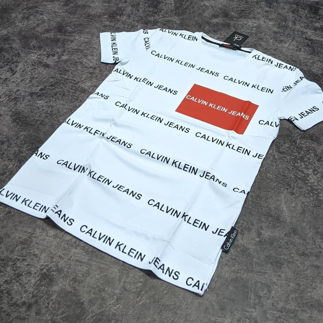 Чоловіча футболка Calvin Klein CK1688 біла