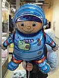 Фольгированный шар 40' Flexmetal Космонавт, 100 см 1882, фото 4