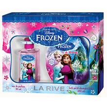 Детская туалетная вода для девочек La Rive Frozen 50ml + гель для душа