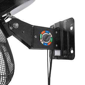 Настенный усиленный поворотный вентилятор RAM Heavy Duty Wall Fan 45см 100W 3 скорости, фото 2