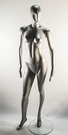 Манекен женский J-10-silver