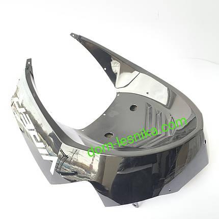 Пластик нижняя часть подклювника для китайского скутера Viper Matrix 50/150 куб, фото 2